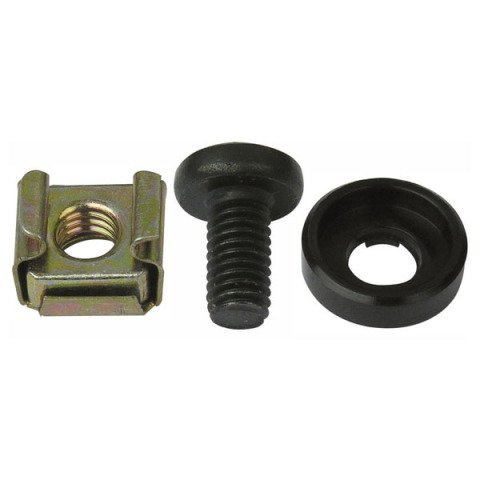DAP audio pro Mounting Set 100 x Screwbolt, nut and protectionring D8011