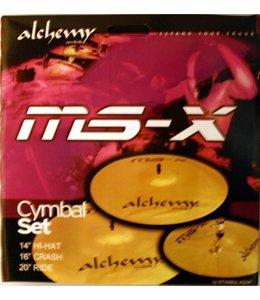 Istanbul Agop MS-X Alchemy Becken Set Anfänger 14 - 16 - 20