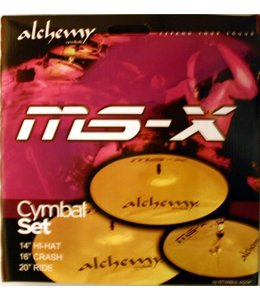 Istanbul Agop MS-X Alchemy bekkenset beginners 14 - 16 - 20