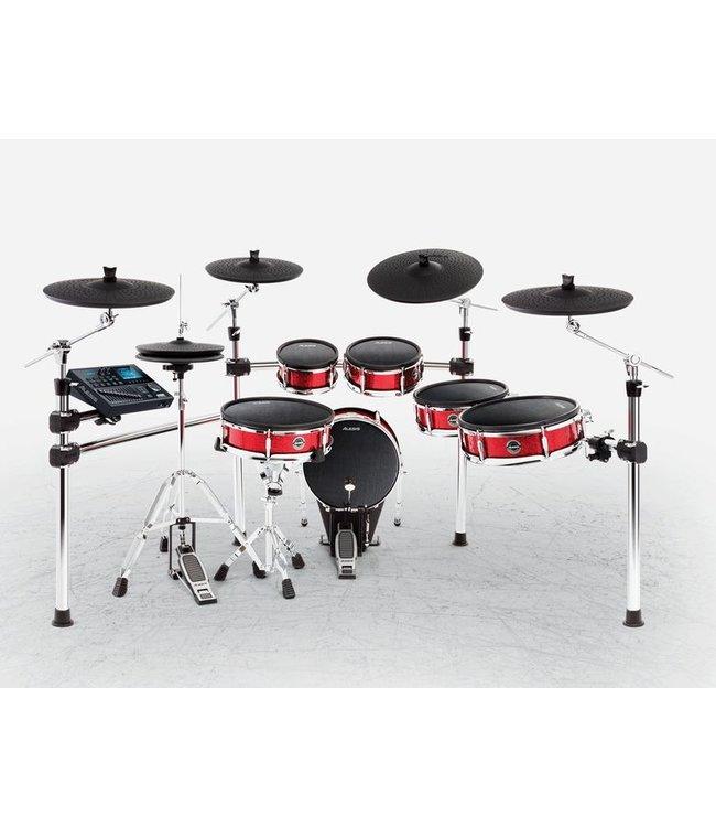 Delig 5 Drumstel Cymbals Elektronisch 6 Strike Kit Pro 5L3Rq4Aj