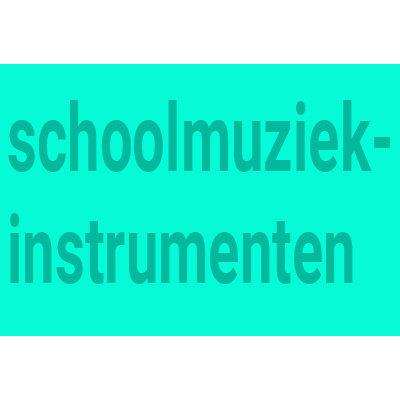 Schule Musikinstrumente