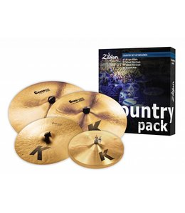 Zildjian Bekkenset, K Zildjian Country Pack