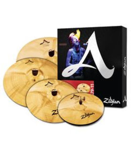 Zildjian Cymbal set, A Custom, Cymbal Pack, 14H/16+18Cr/20R