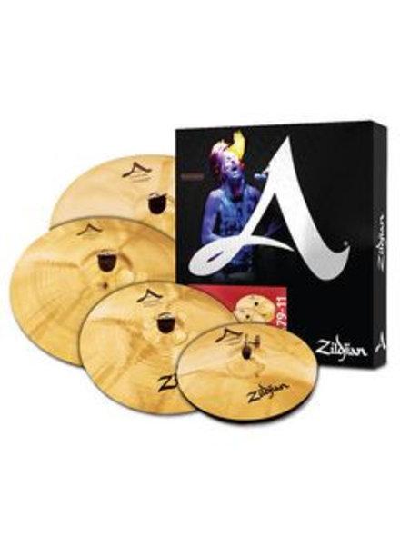 Zildjian Cymbal set, A Custom, Cymbal Pack, 14H/16+18Cr/20R