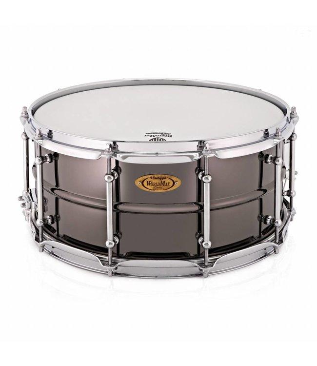 Worldmax BK-6514SH Black Dawg 14 x 6.5 inch snare drum