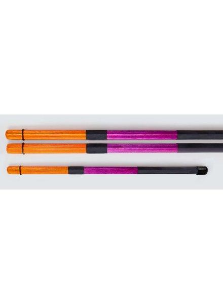 QPercussion QSticks rods Conversation orange purple