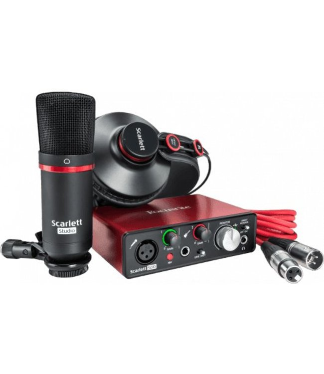 Focusrite RFO Scarlett2 Solo Studio pack (2nd Gen) Pack