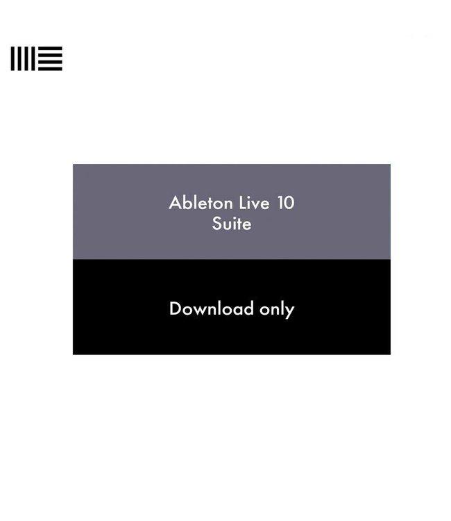 Ableton LIVE 10 SUITE EDU download 88177  educational