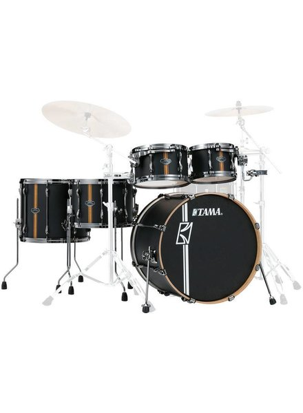 Tama ML40HZBN2-FBV Superstar Duo HD Snare Flat Black Shellset