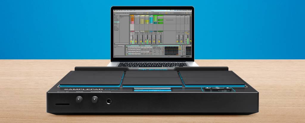 Alesis SAMPLEPAD PRO 8-Pad Percussion and Sample-Triggering Instrument