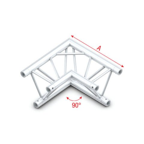 Showtec FT30003 Corner 90° Pro-30 Triangle F Truss