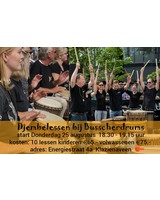 Busscherdrums djembe916 Djembe les Beginners 10 lessons course - children