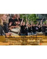 Busscherdrums djembe916 Djembe les Beginners 10 lessen cursus - kinderen