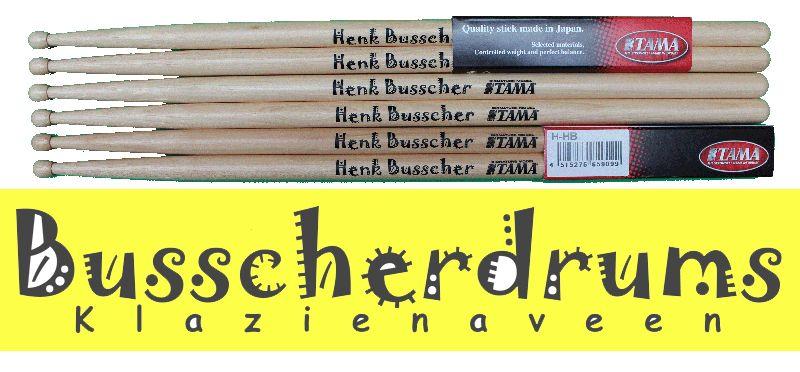 Tama Henk Busscher drum sticks