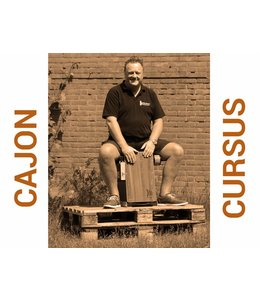 Busscherdrums Cajon Course starts every Monday at 7:30 PM 10 lessons