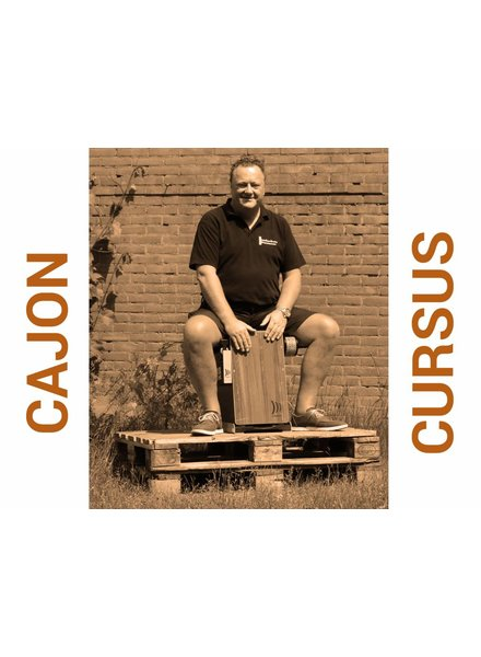 Busscherdrums Cajon Course 10 lessons starts Monday 25 February 2019 at 20.00