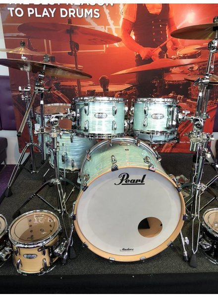 Pearl MCT925XEP/C414 5dlg. Drumstel shellpack without snaredrums Ice Blue Oyster