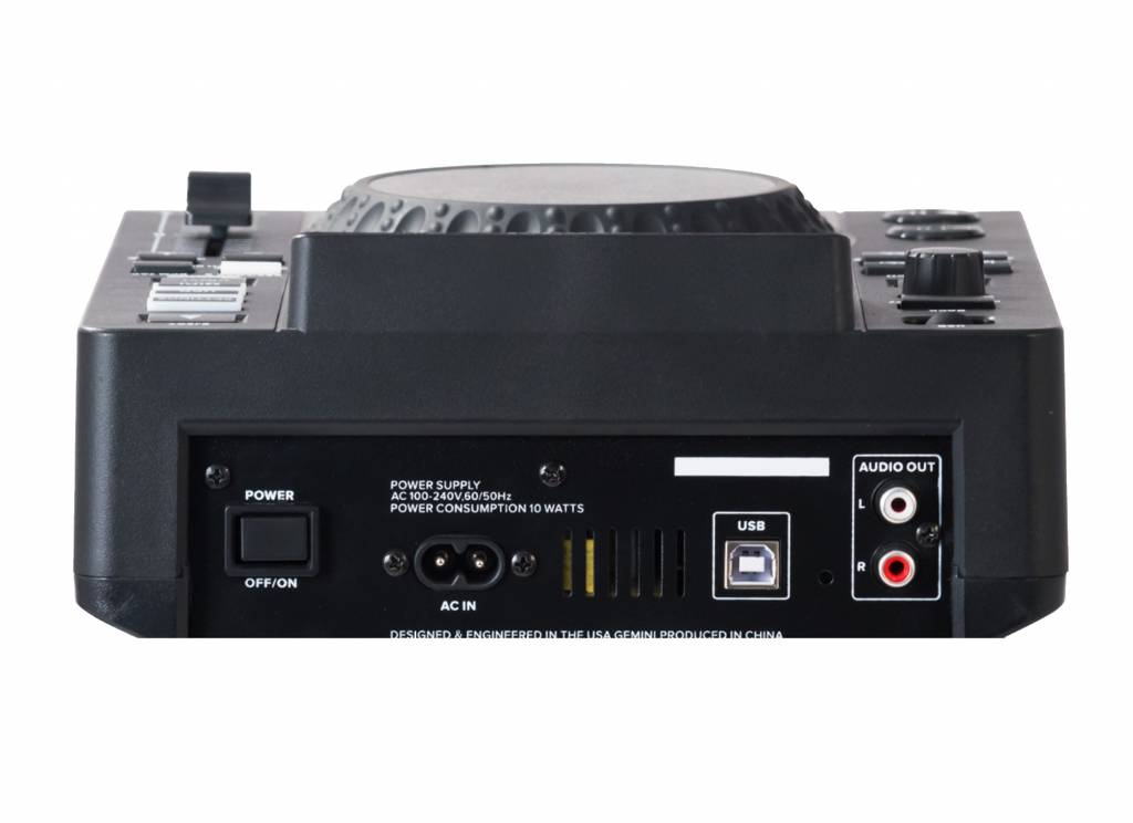 Gemini MDJ-500 tabletop USB-mediaspeler