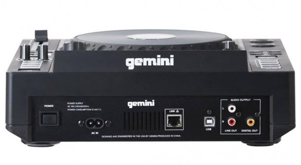 Gemini MDJ-900 tabletop USB-mediaspeler