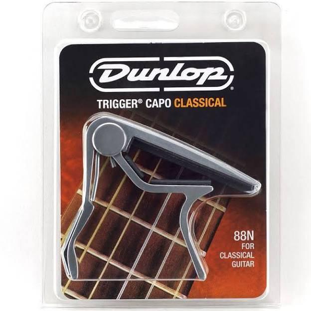 Dunlop Dunlop 88N Capodaster Voor Klassieke Gitaar - Nikkel