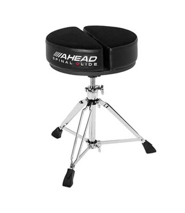 Ahead SPG-ARTB drumkruk rond zwart Spinal G serie 3 poot