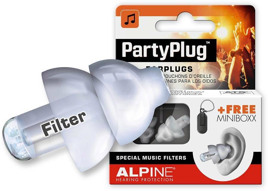 Alpine Partyplug  oordoppen gehoorbescherming ALP-PP/TP