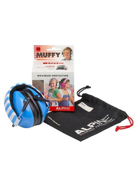 Alpine Muffy oorkappen voor kinderen blauw  ALP-MUF/BU