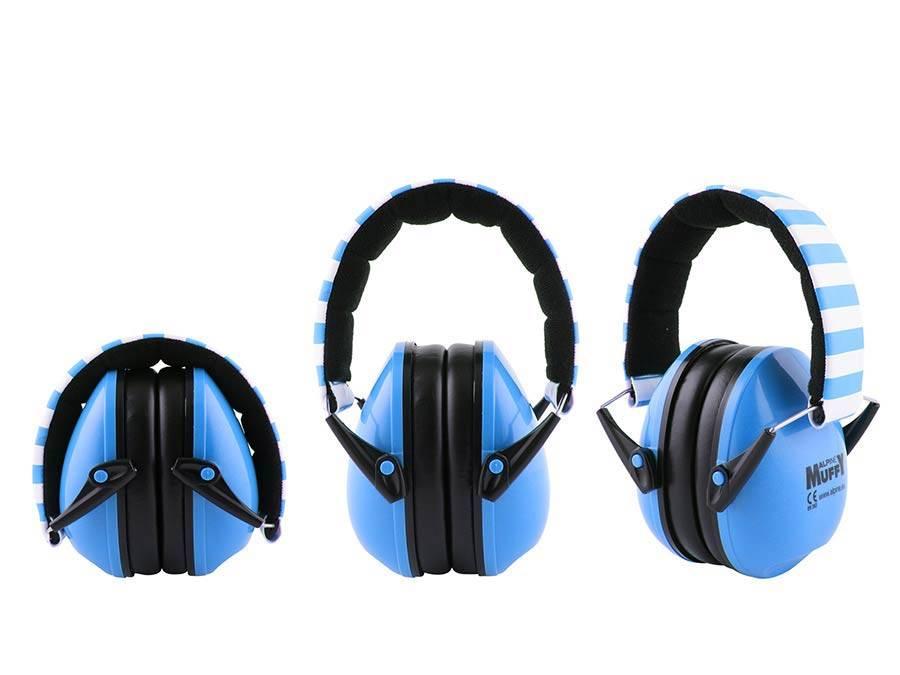 Alpine Muffy oorkappen voor kinderen blauw  ALP-MUF/BU gehoorbescherming