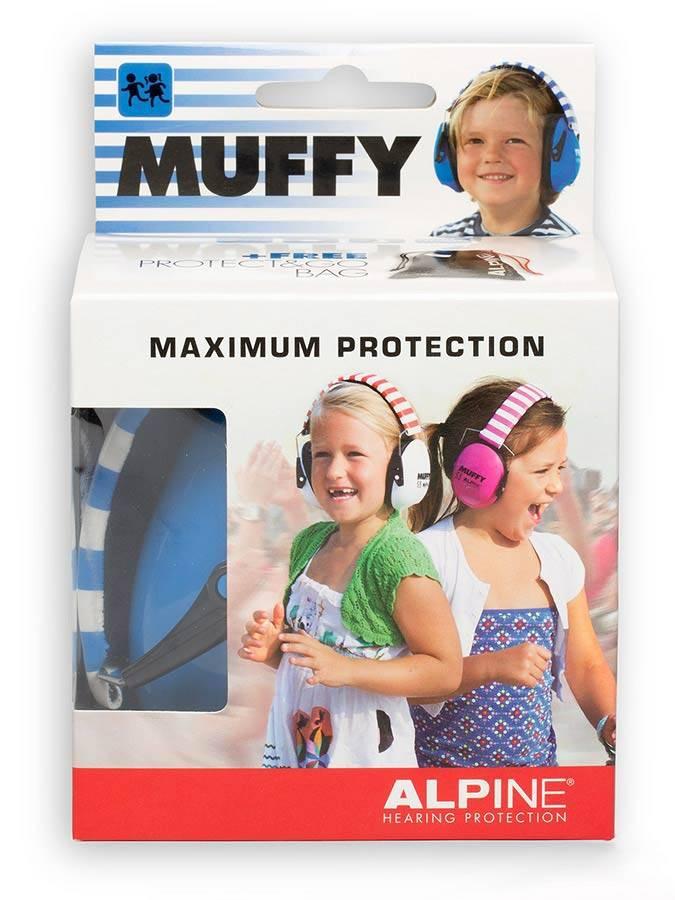 Alpine Muffy earmuffs for children blue ALP-MUF / BU