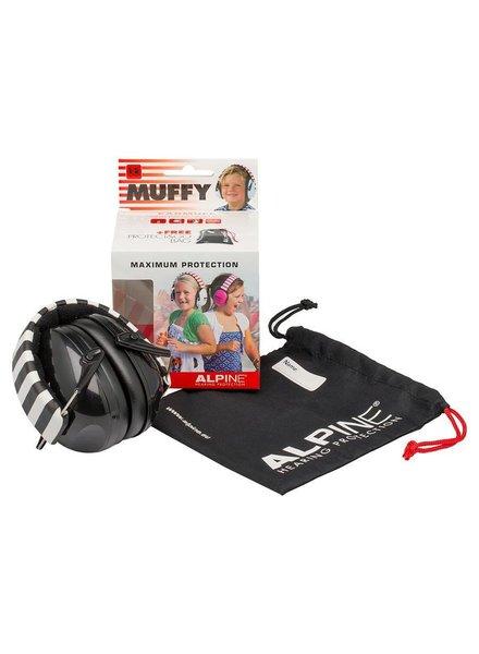 Alpine Muffy Ohrenschützer für Kinder schwarz ALP-MUF / BK