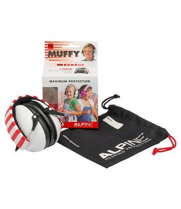 Alpine Muffy Kids white earmuffs