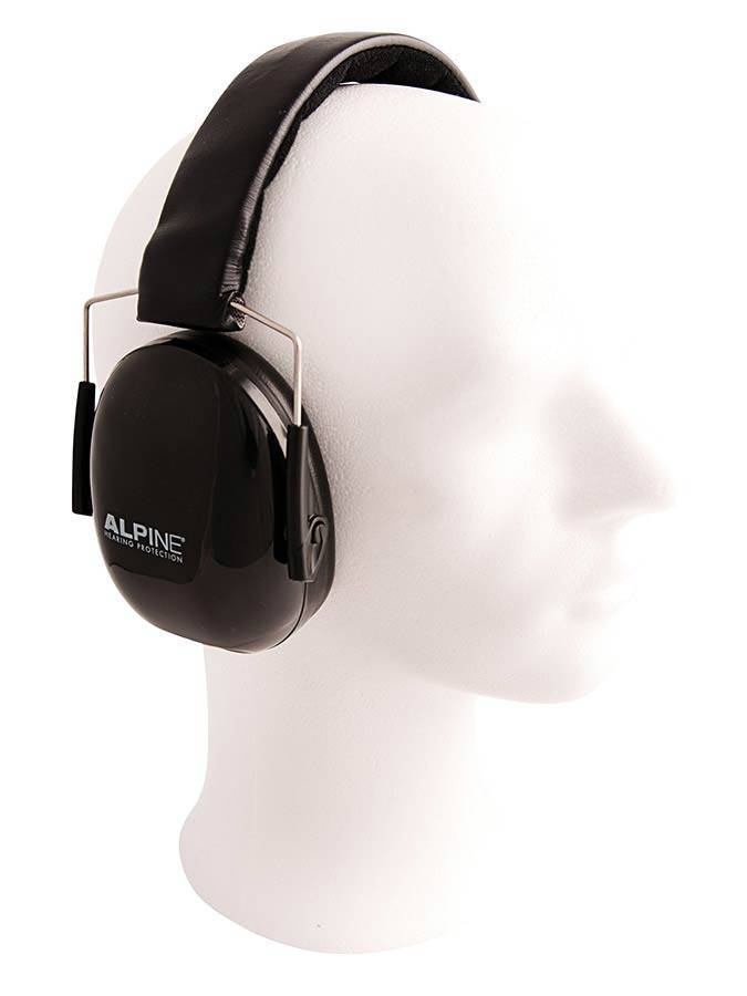 Alpine Musicsafe Music Earmuff black earmuffs