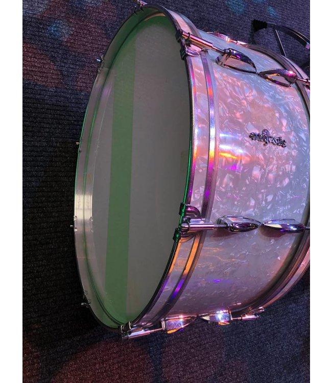 "Majestic Marching bass drum stadiontrommel 24 x 11"" vintage"
