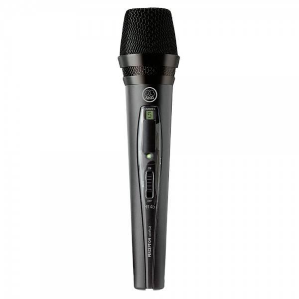 AKG WMS45 Perception Wireless Vocal Set (Band D, 863 - 865 MHz)WMS45 Perception Wireless Vocal Set (Band D, 863.100 - 864.900 MHz)