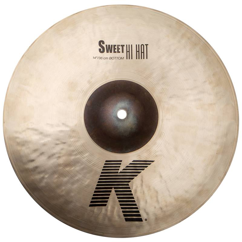 "Zildjian K0720 K Sweet Hihat, 14"", Sweet Hats, hihat  traditional"