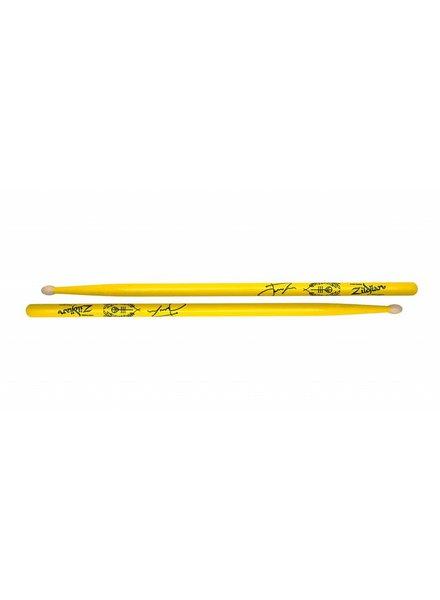 Zildjian Josh Dun Artist-serie, rood ZIASJD2 ASJD2 Trench drumsticks