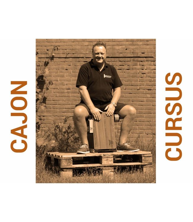 Busscherdrums Cajon Course starts Monday, June 24 at 8 pm, 6 out of 10 lessons