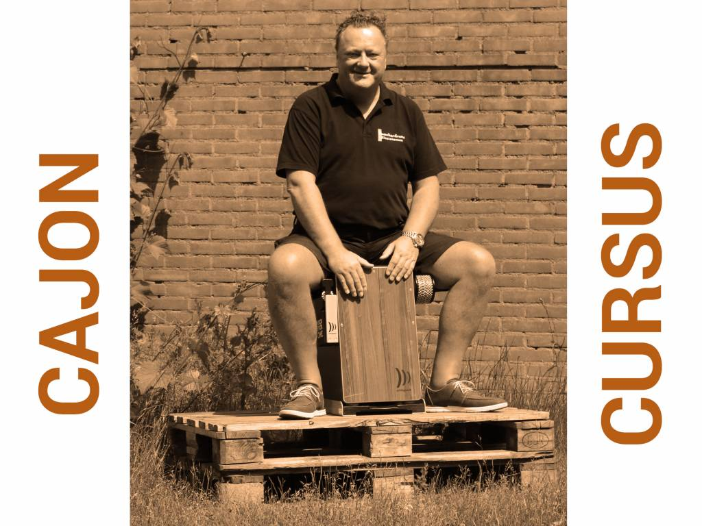Busscherdrums Cajon Course 6 of the 10 lessons start Monday 25 February 2019 at 20.00