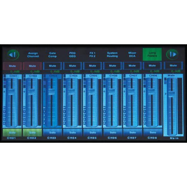 DAP audio pro GIG-202 TAB 20 Channel digital mixer incl. dynamics & DSP