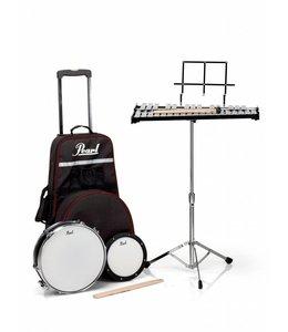 Pearl PL-900C set chimes, snare drum & practicepad
