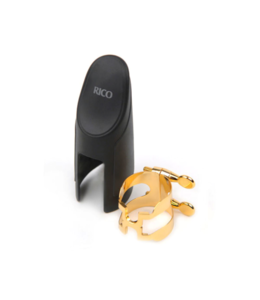 D'addario Rico HAS1G H-Ligature gold and cap