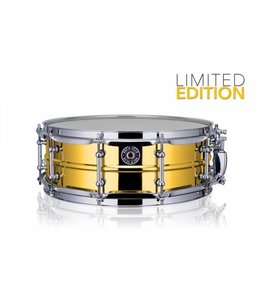 Drum Gear  Getriebe Trommel Snare Drum Gold-Chrom 14''x5 '' Limited Edition S1450LTD