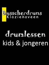 Busscherdrums Drum Lessons monthly card 20 minutes weekly youth 101