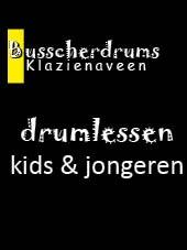 Busscherdrums Drum Lessons Karte 38 x 30-minütige wöchentliche Jugend 603