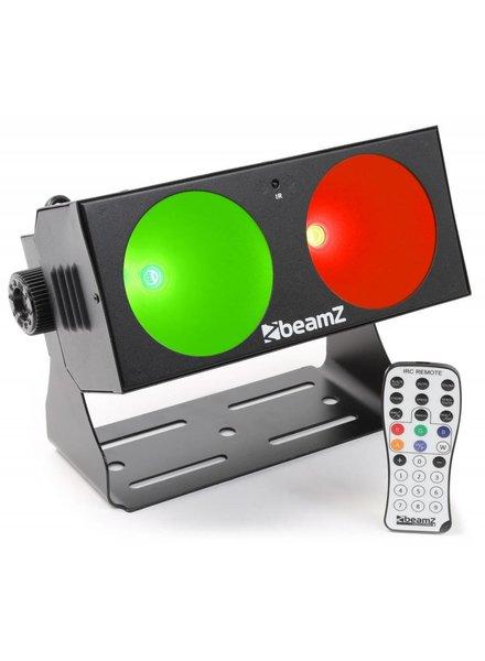 Beamz LUCID 1.2 2x 10W COB LED's