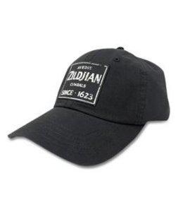 Zildjian KTZIT4631 Baseballmütze, schwarz mit Quincy Weinlese-Zeichen