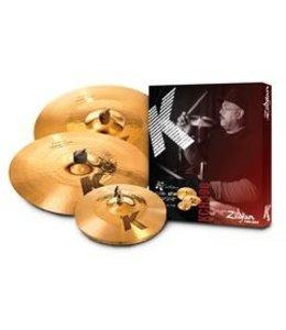 Zildjian Cymbal set, K Custom, Hybrid Cymbal Pack, 14 1/4H/17Cr/21R