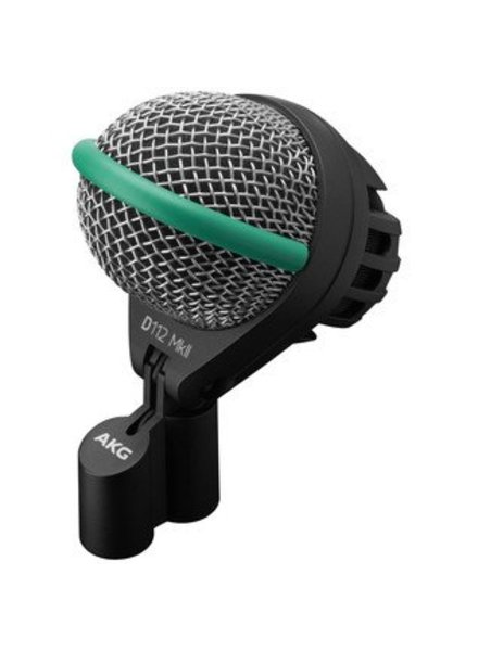 AKG D112 MKII bass drum microphone with flexible Mount