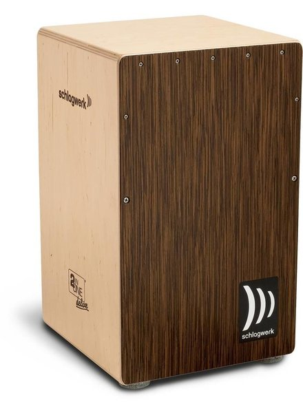 Schlagwerk Cajon CP430 2inOne Luxury cover wenge