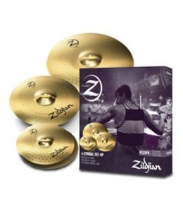 Zildjian Cymbal set, Planet Z, pack of 4, 14H/16Cr/20R/5AWN